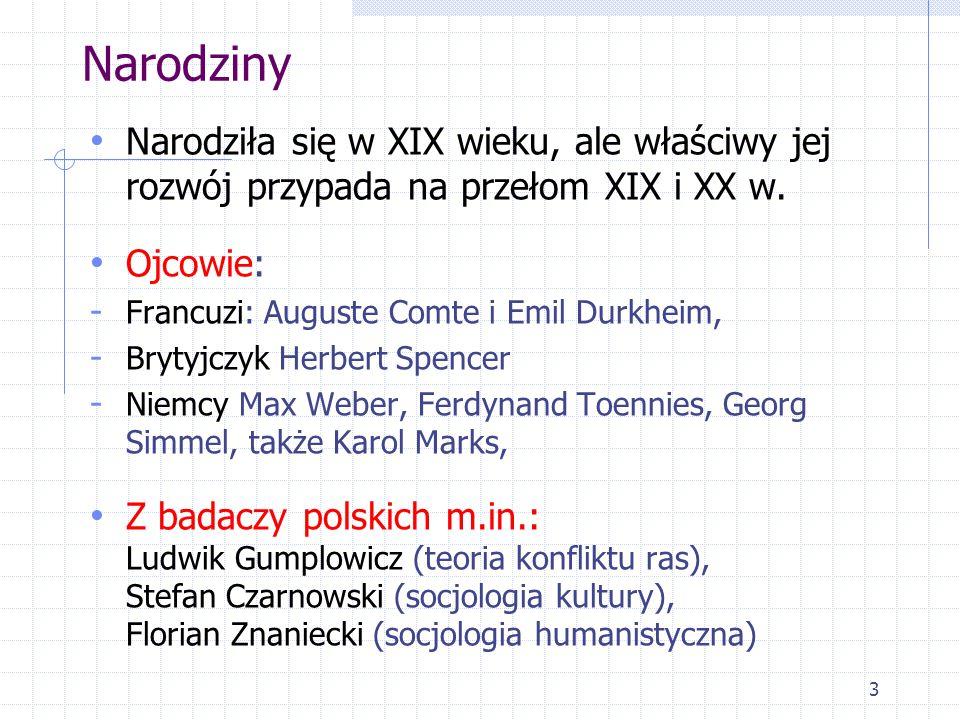 14 Funkcje socjologii 1.