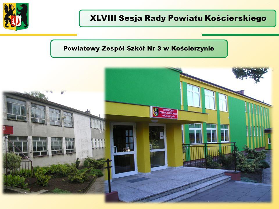 Powiatowy Zespół Szkół Nr 3 w Kościerzynie XLVIII Sesja Rady Powiatu Kościerskiego