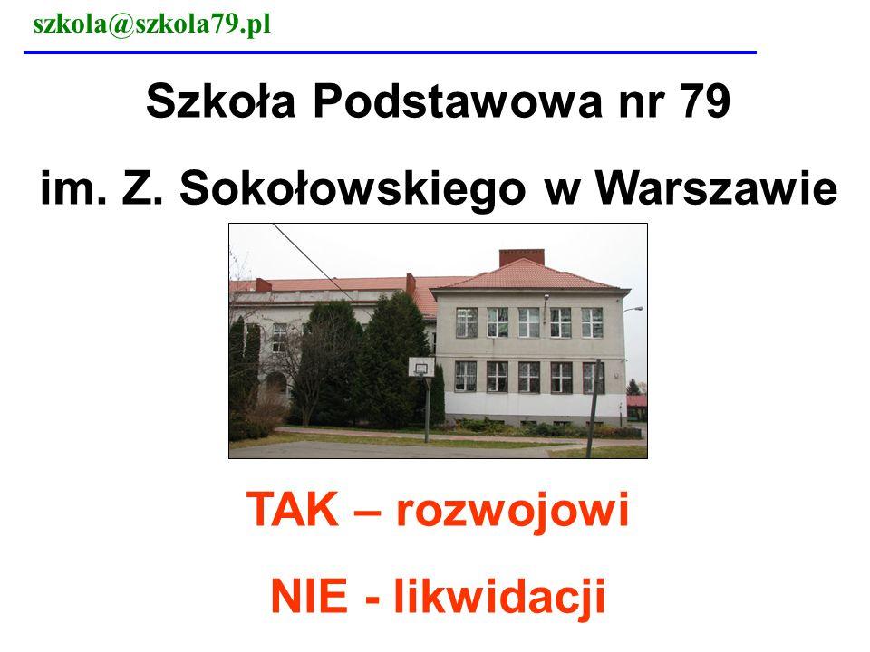 szkola@szkola79.pl 4 x dłuższa droga do szkoły 7.38 – Estrady/ Arkuszowa – korek