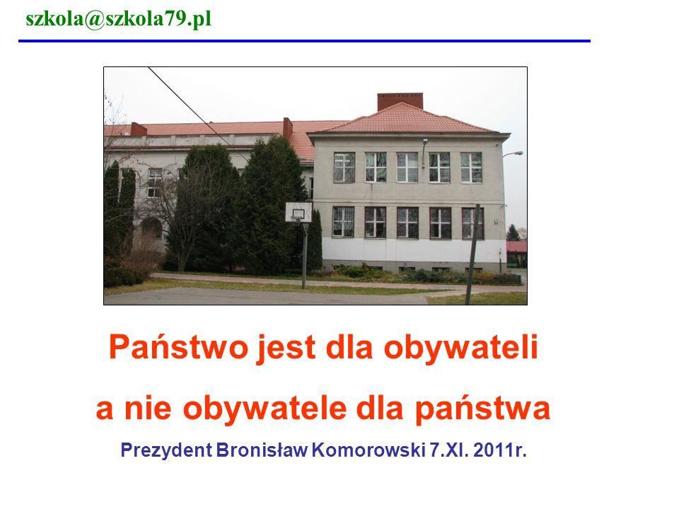 szkola@szkola79.pl Rozwiązania: Co można zrobić .3.