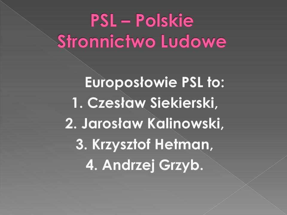 Europosłowie z SLD to : 1. Janusz Zemke, 2. Adam Gierek, 3. Lidia Geringer de Oedenberg, 4. Bogusław Liberadzki, 5. Krystyna Łybacka.