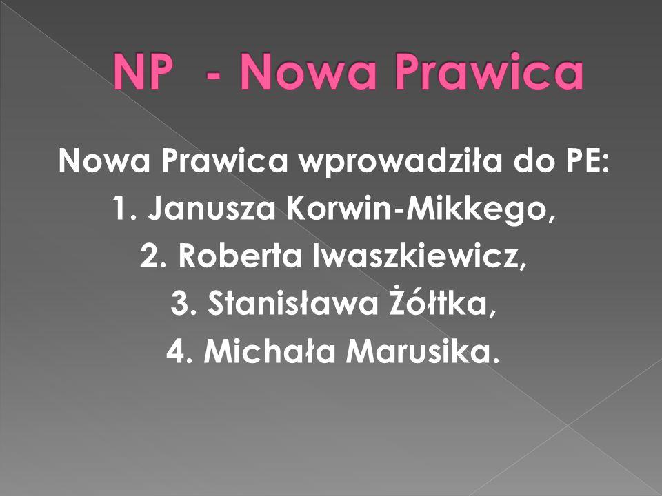 Europosłowie PSL to: 1. Czesław Siekierski, 2. Jarosław Kalinowski, 3. Krzysztof Hetman, 4. Andrzej Grzyb.