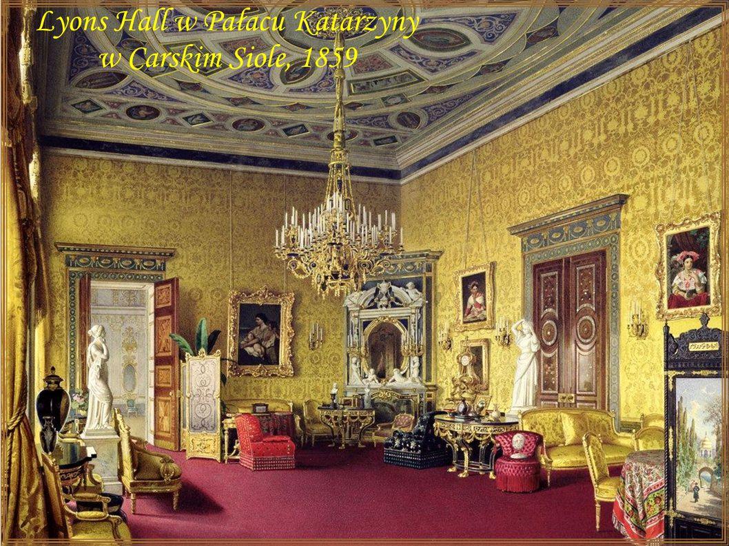 Carskie Sioło – Pałac Katarzyny - Sala Agatowy