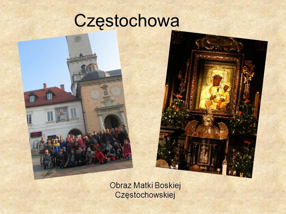 Częstochowa Obraz Matki Boskiej Częstochowskiej