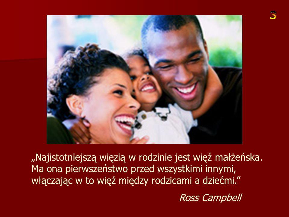 """""""Chociaż miłość mieszka w sercach niemal wszystkich rodziców, cała sztuka polega na tym, by dać to dziecku odczuć."""" Ross Campbell"""