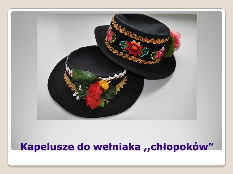 Chłopięcy strój ludowy spod Łowicza