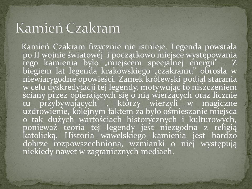 """Kamień Czakram fizycznie nie istnieje. Legenda powstała po II wojnie światowej i początkowo miejsce występowania tego kamienia było """"miejscem specjaln"""