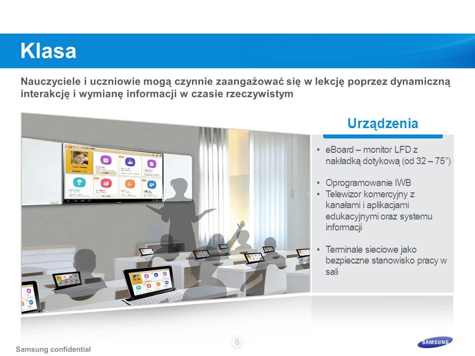 """6 Urządzenia eBoard – monitor LFD z nakładką dotykową (od 32 – 75"""") Oprogramowanie IWB Telewizor komercyjny z kanałami i aplikacjami edukacyjnymi oraz"""