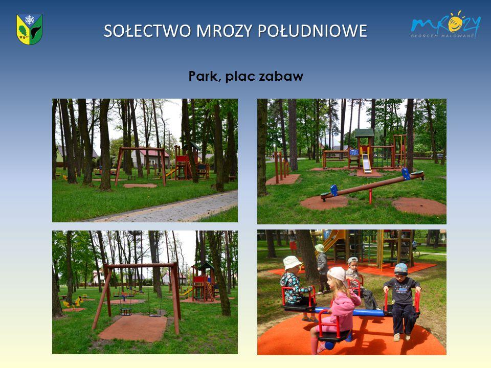 SOŁECTWO MROZY POŁUDNIOWE Park, plac zabaw