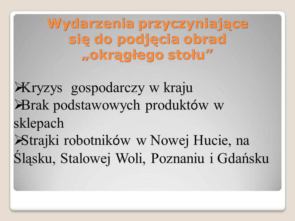 Główni inicjatorzy obrad okrągłego stołu Lech Wałęsa gen. Czesław Kiszczak