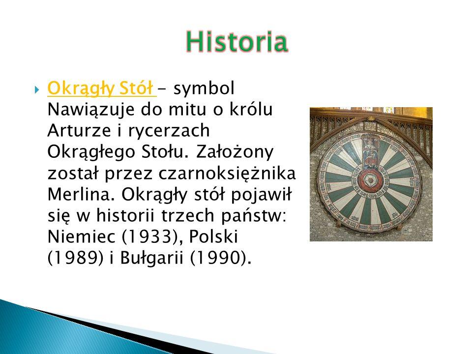  Okrągły Stół – negocjacje prowadzone od 6 lutego do 5 kwietnia 1989 przez przedstawicieli władz PRL, opozycji solidarnościowej oraz kościelnej.
