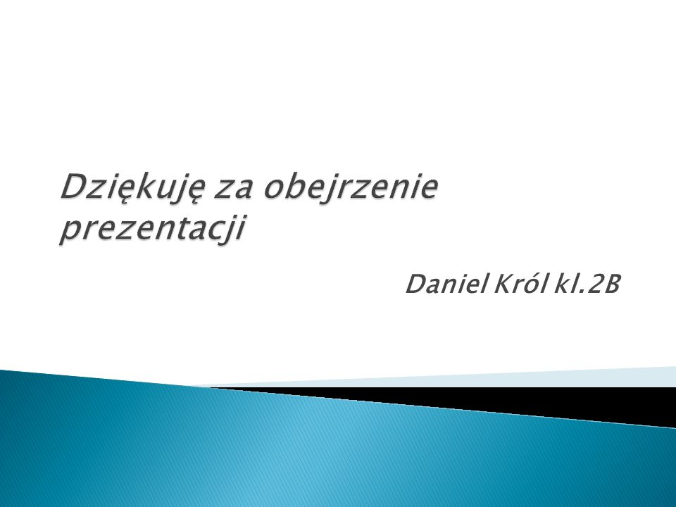 Daniel Król kl.2B