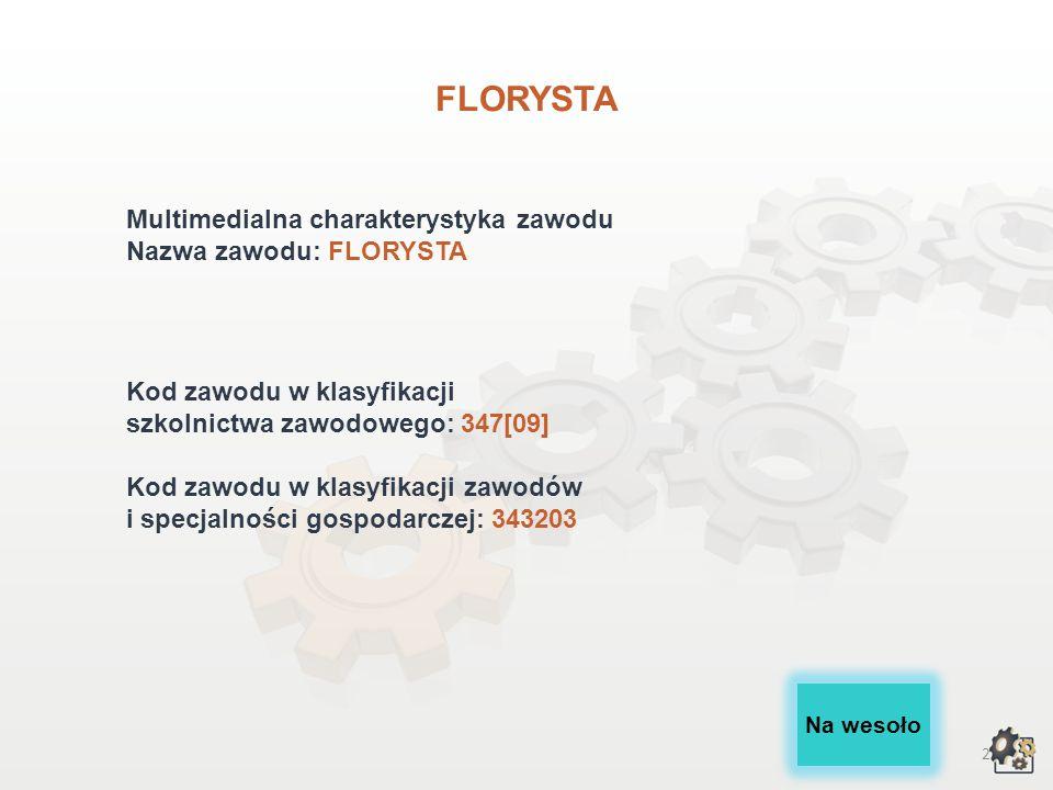FLORYSTA wersja dla gimnazjum i szkół ponadgimnazjalnych