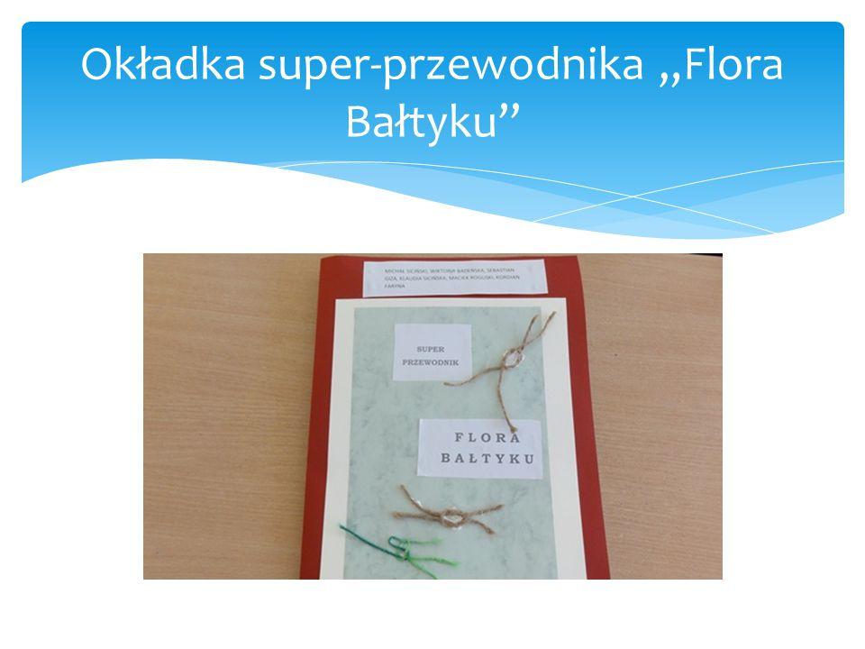 """Okładka super-przewodnika """"Flora Bałtyku"""""""