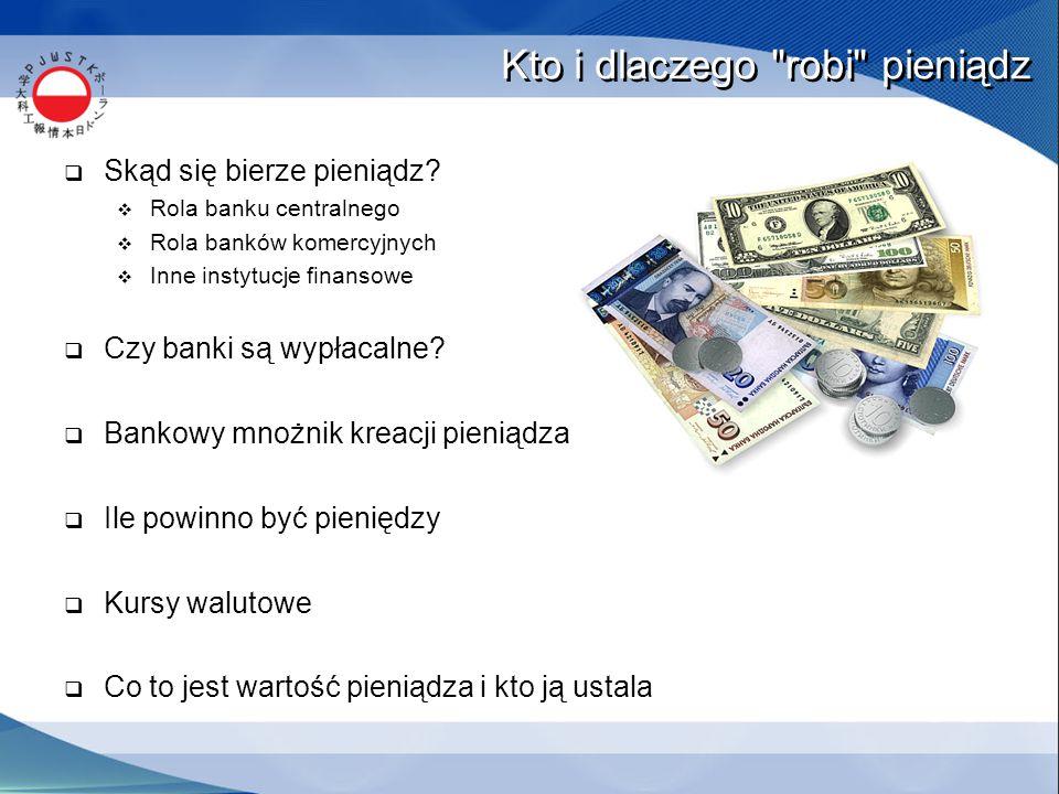 Kto i dlaczego robi pieniądz  Skąd się bierze pieniądz.
