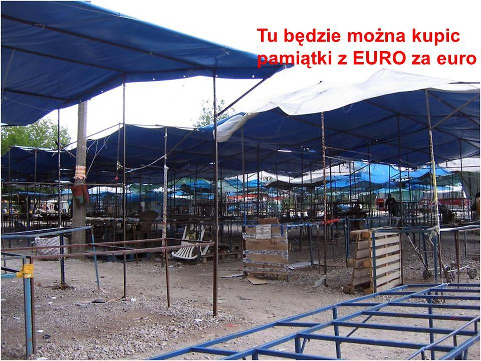 Tu będzie można kupic pamiątki z EURO za euro
