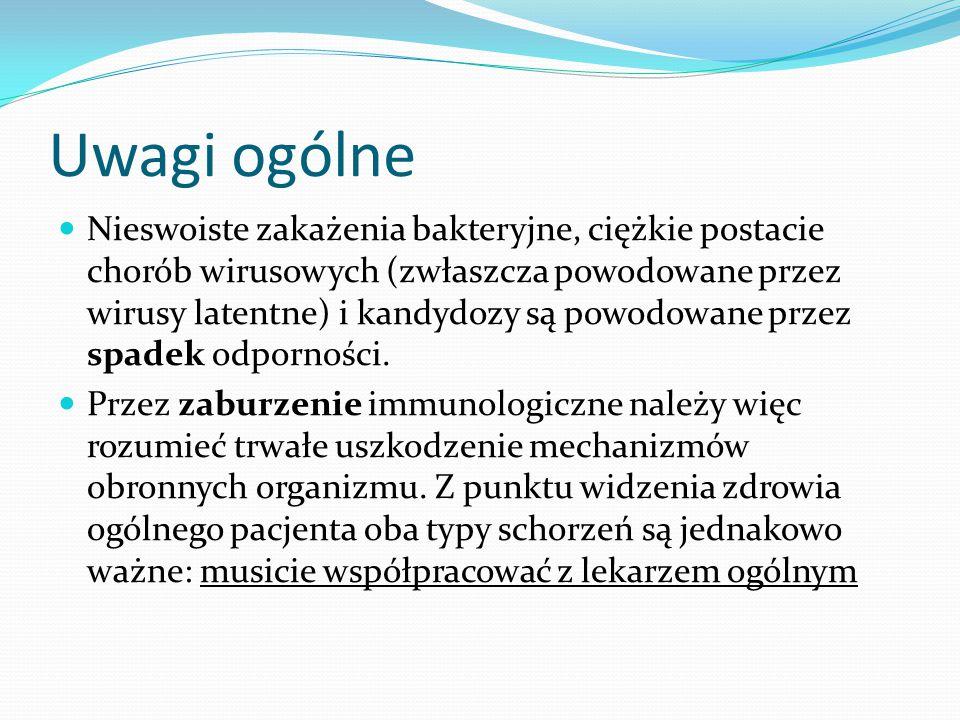 Pemfigoid bliznowaciejący (błon śluzowych) Przeciwciała przeciwko antygenom BPAg 1 i 2, lamininie i kolagenowi typu VII Zmiany na śluzówkach – oka, jamy ustnej, przewodu pokarmowego, narządów płciowych Choroba postępuje latami, zwykle zajmuje najpierw jedno oko.