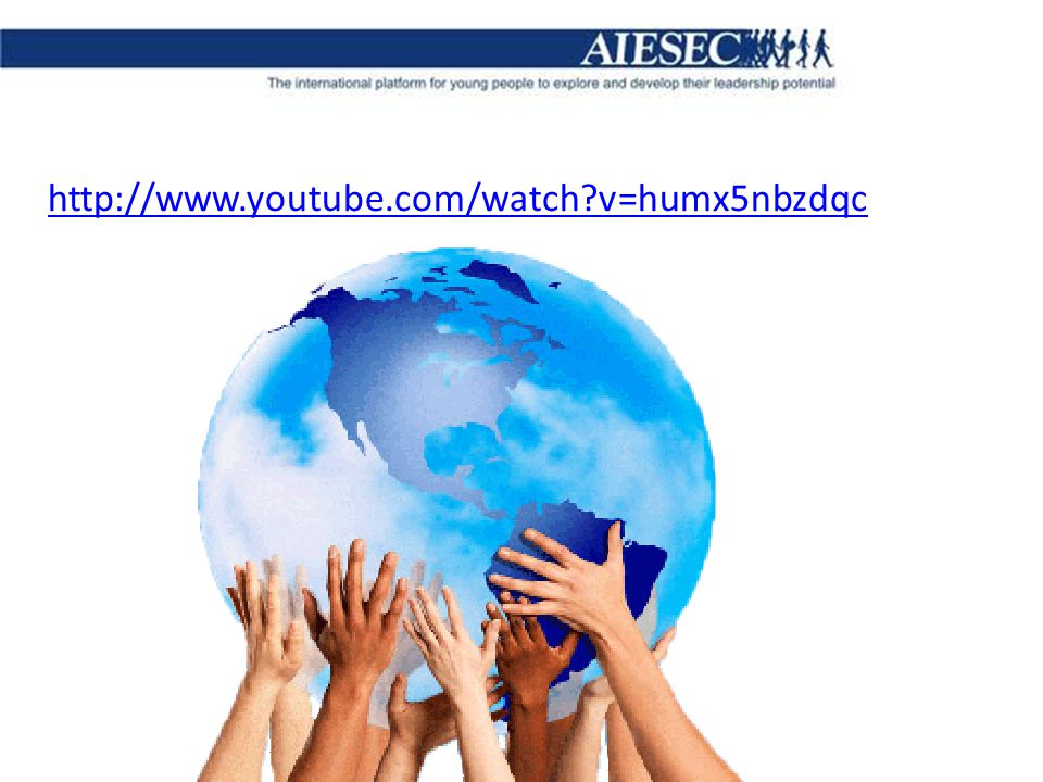 HISTORY OF AIESEC AIESEC is a global, non-political, independent, not-for-profit organization.
