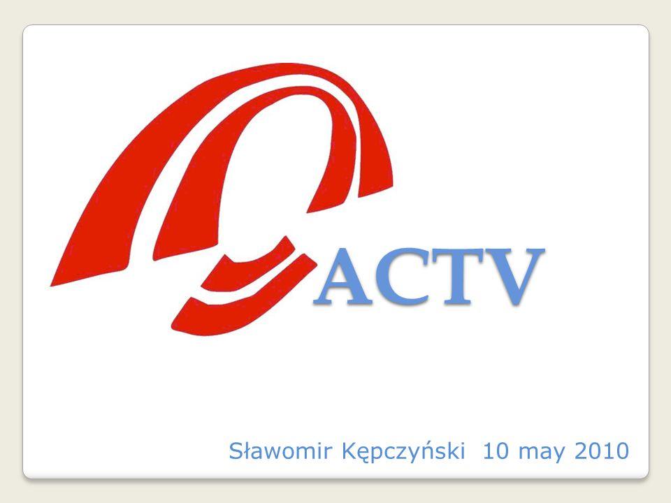 Sławomir Kępczyński 10 may 2010 ACTV