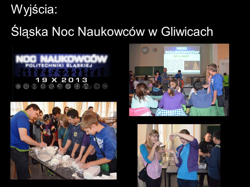 Wyjścia: Śląska Noc Naukowców w Gliwicach