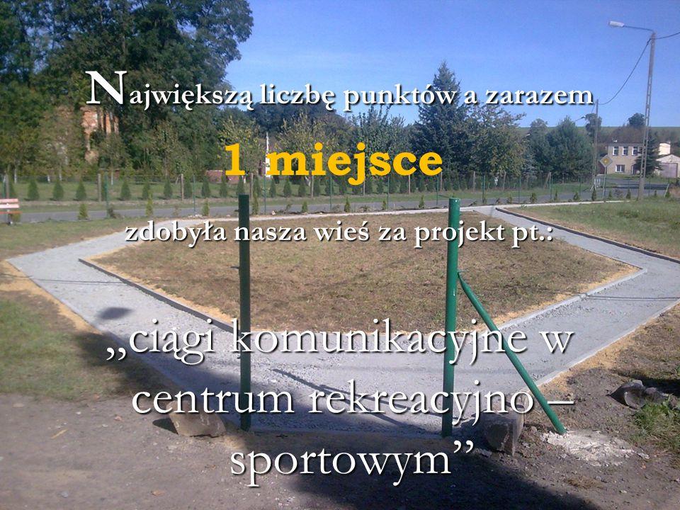 """Udział mieszkańców wsi w konkursie """"Aktywna Wieś 2011r."""