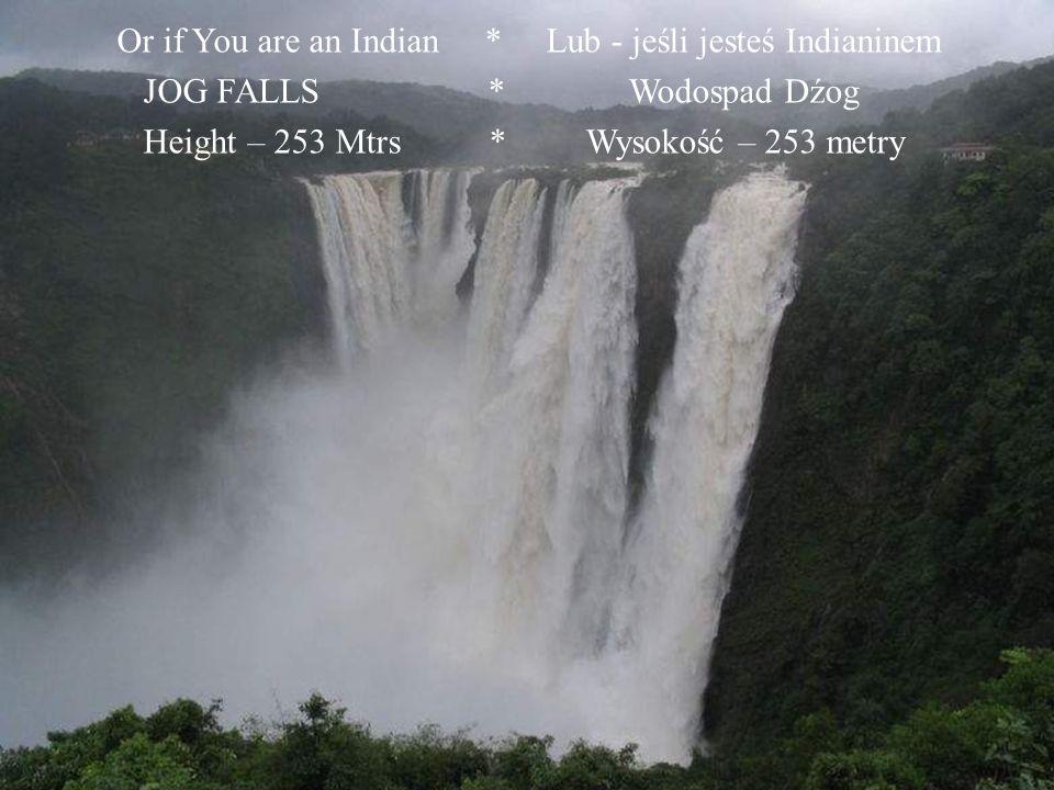 NIAGARA FALLS, Height 59 Mtrs *** WODOSPAD NIAGARA, Wysokość 59 metrów