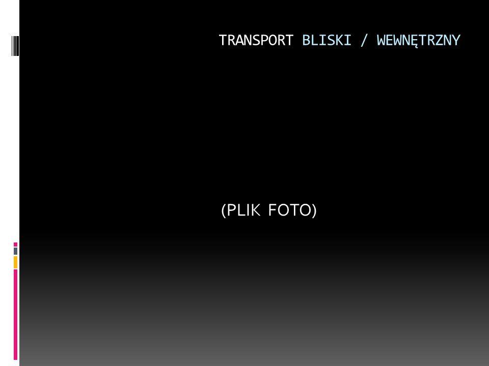 TRANSPORT BLISKI / WEWNĘTRZNY (PLIK FOTO)