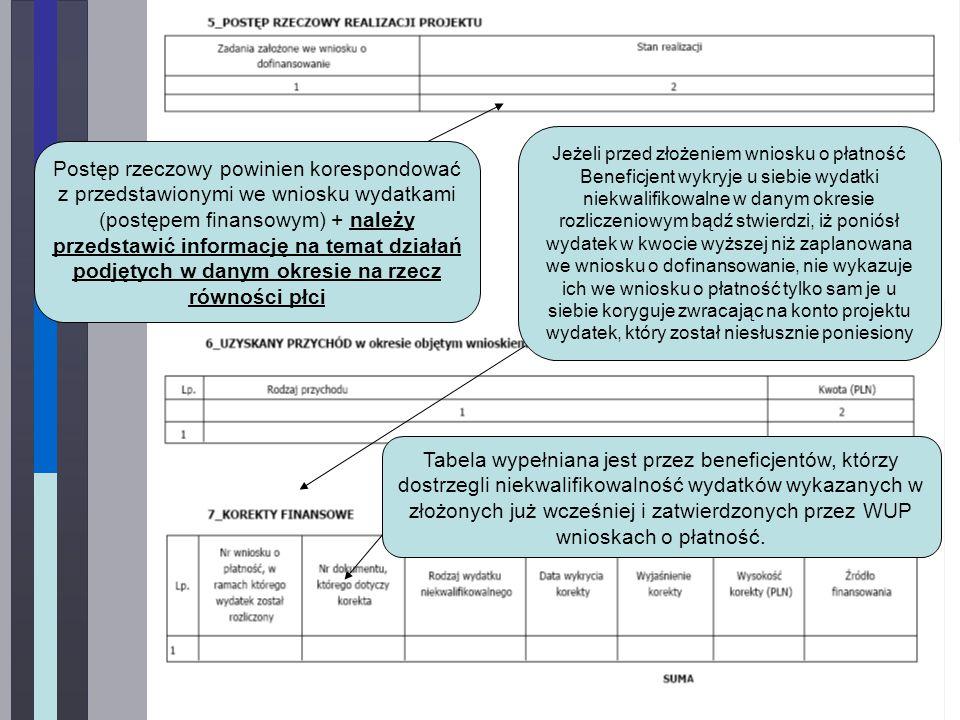 Wydatki wynikające z zatwierdzonych dotychczas przez WUP wniosków o płatność czyli: wydatki zatwierdzone w 2011 r.