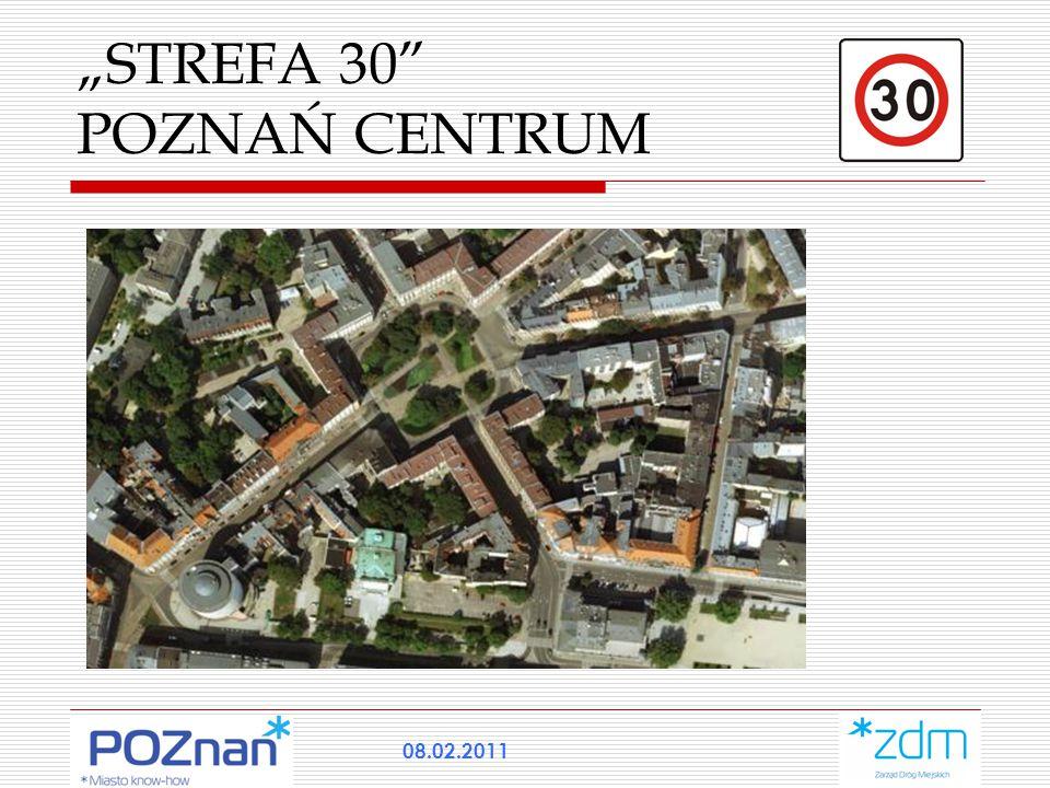"""STREFA 30"" POZNAŃ CENTRUM 08.02.2011"