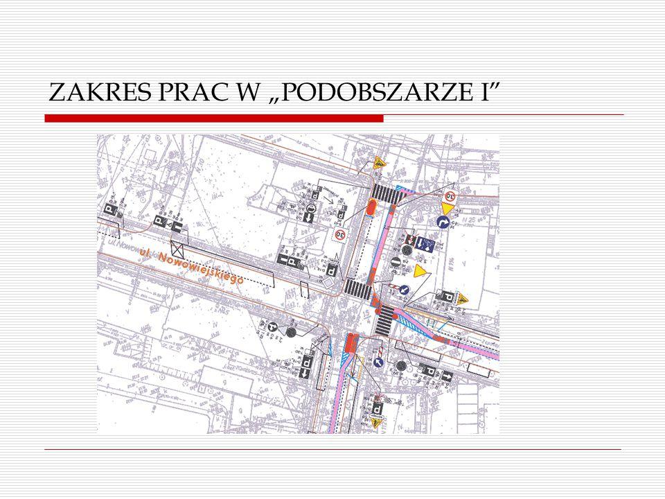 """ZAKRES PRAC W """"PODOBSZARZE I"""