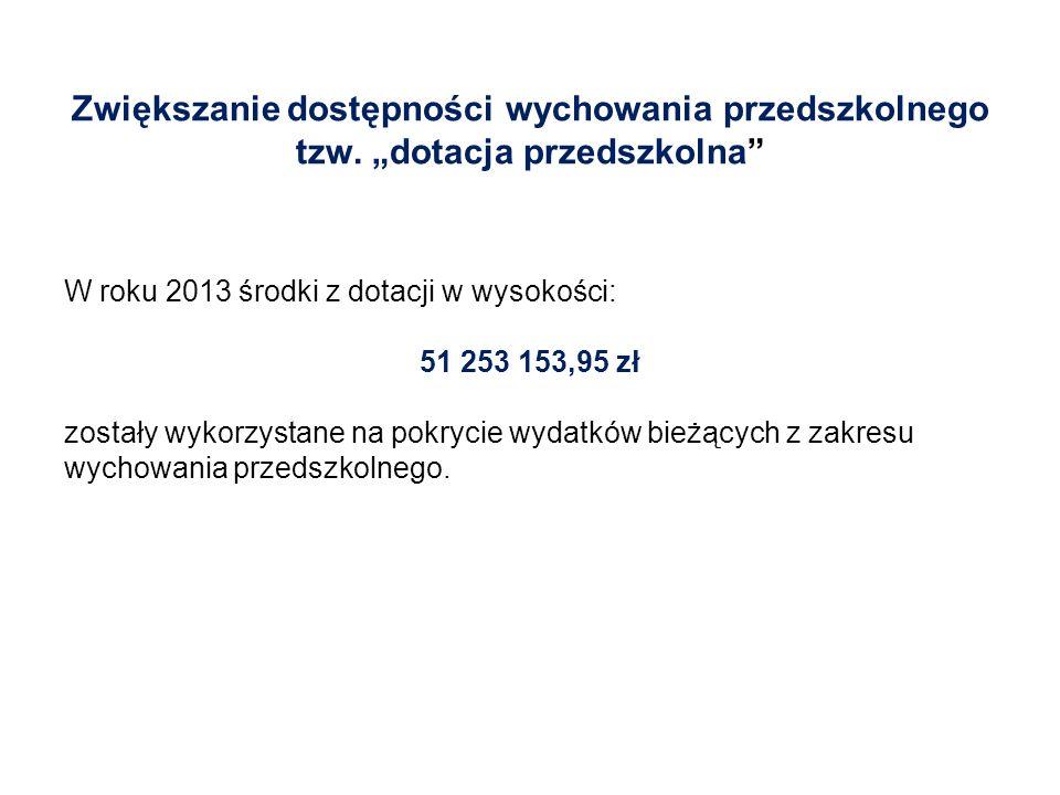  Dotacja przekazywana będzie od 15 sierpnia 2014 r.