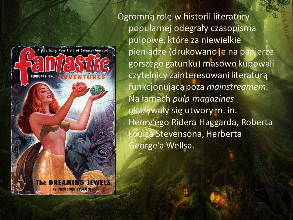 Przyjmuje się, że gatunek fantasy powstał w 1930 r., w którym Robert E.