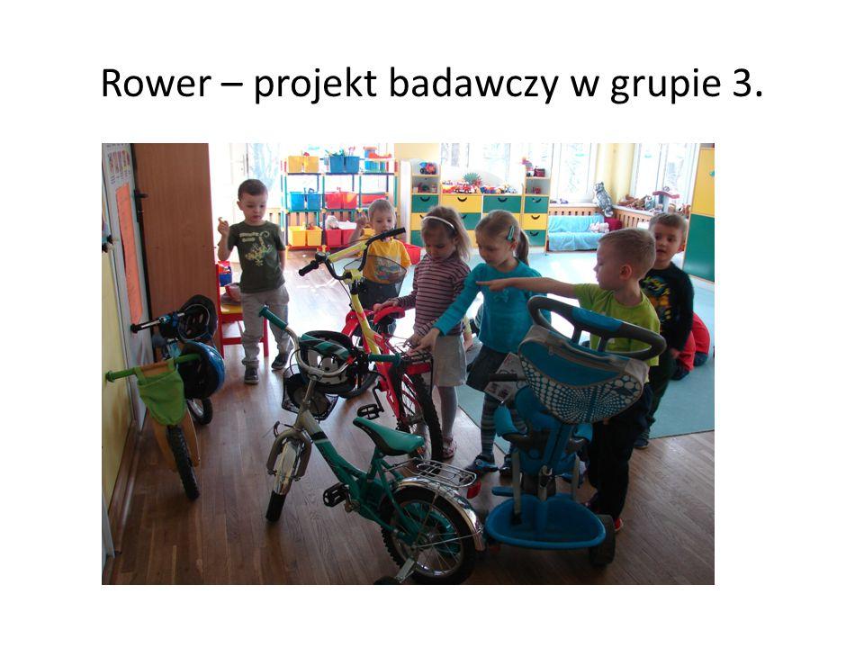 Rower – projekt badawczy w grupie 3.
