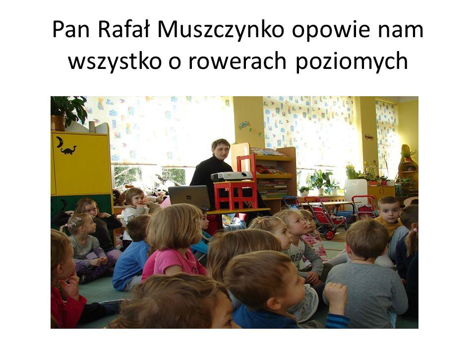 Pan Rafał Muszczynko opowie nam wszystko o rowerach poziomych