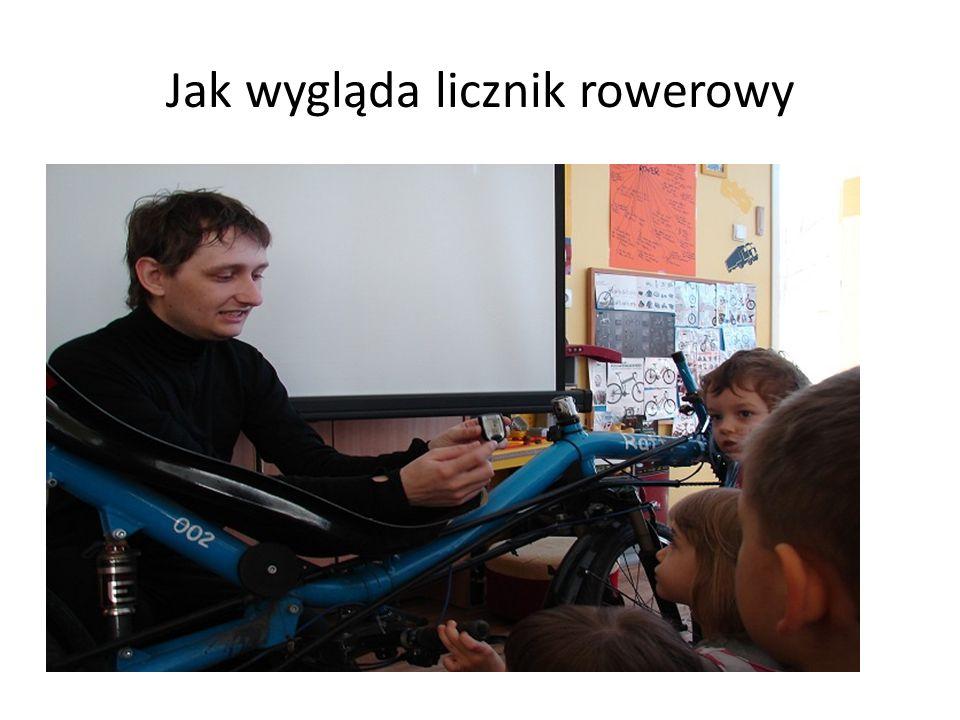 Jak wygląda licznik rowerowy
