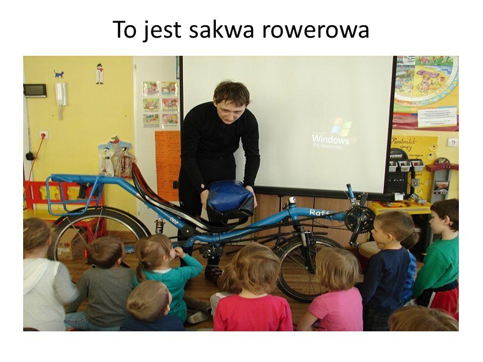 To jest sakwa rowerowa