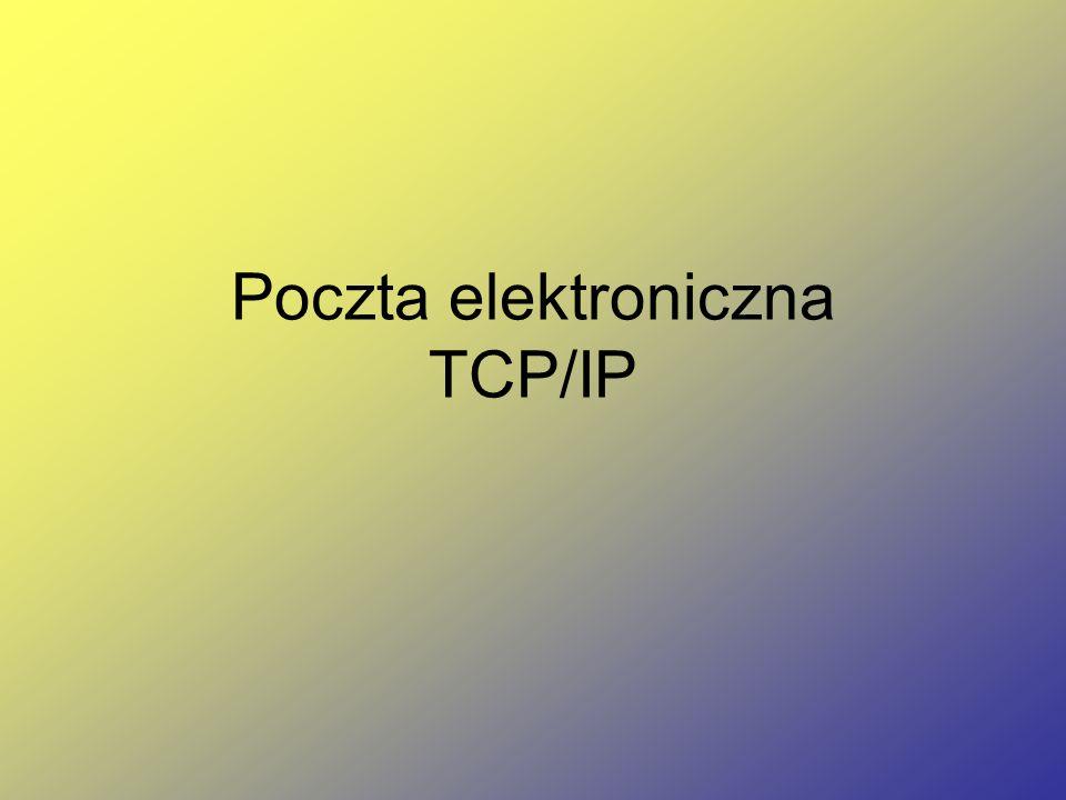 Poczta elektroniczna TCP/IP