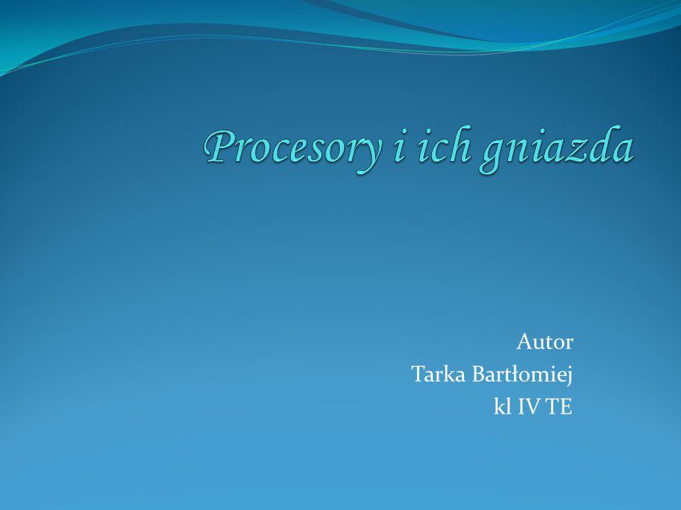 Autor Tarka Bartłomiej kl IV TE