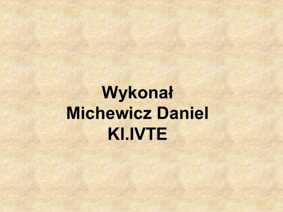 Wykonał Michewicz Daniel Kl.IVTE