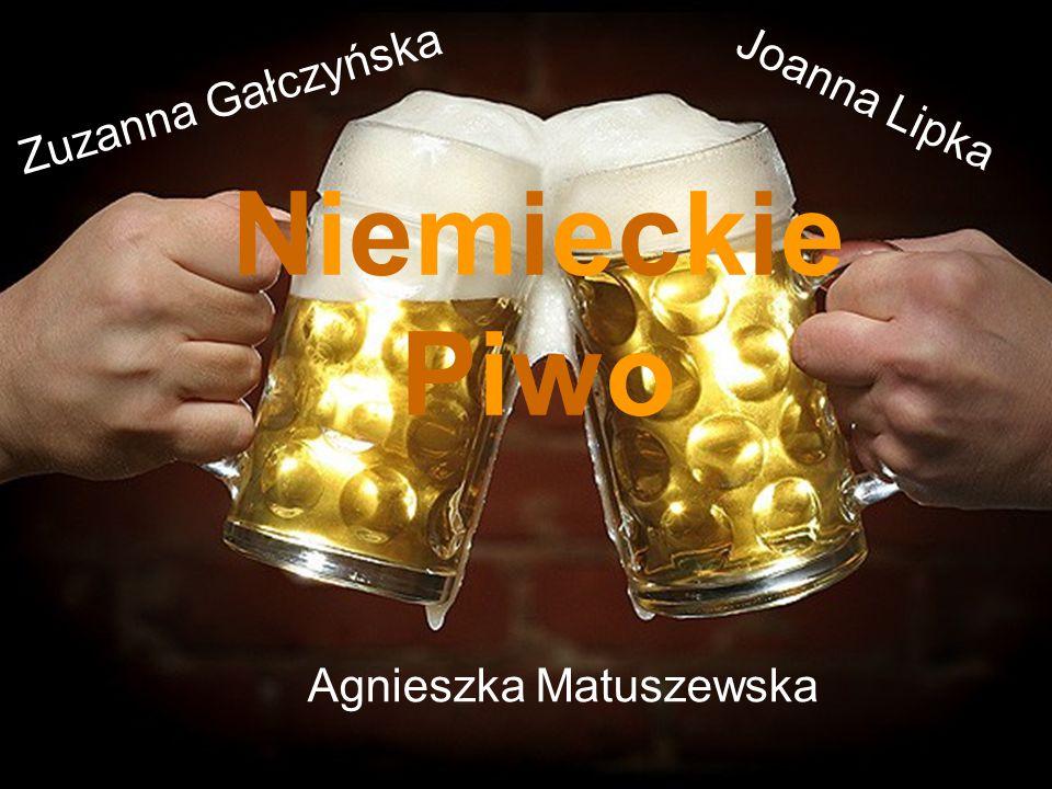 Niemcy wprost kochają piwo.