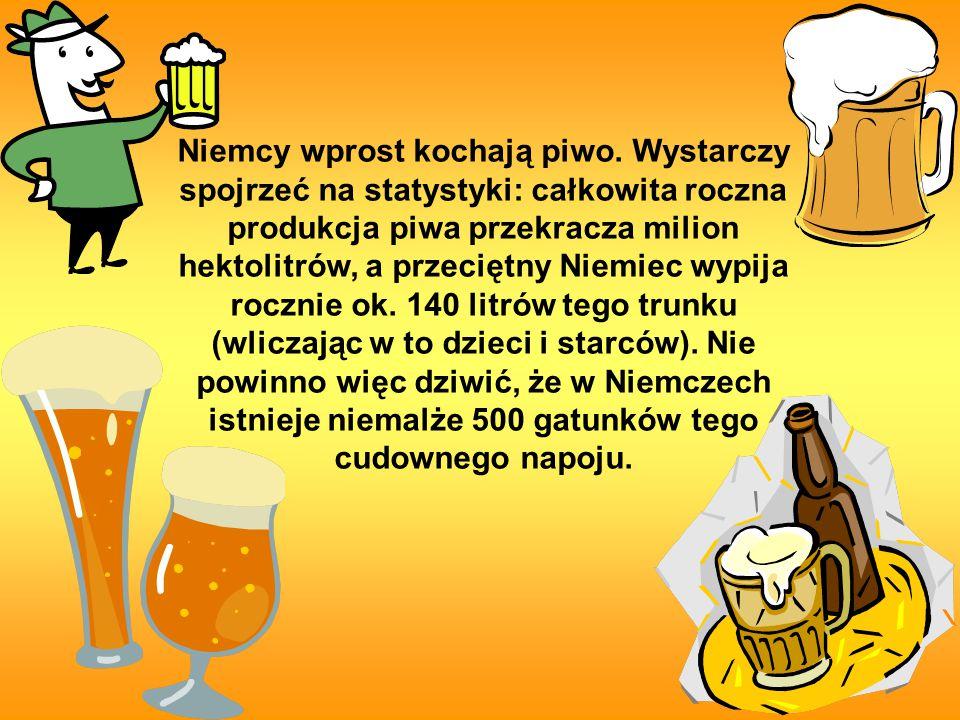 Trochę o historii W Niemczech piwo warzy się od wczesnego średniowiecza.