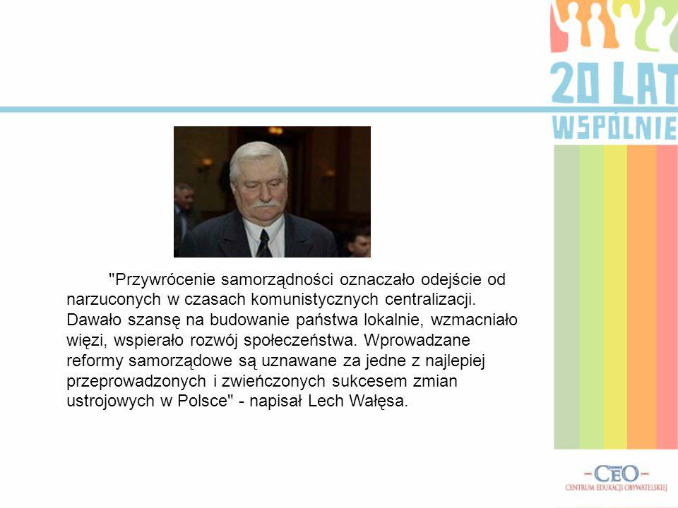 Mieszkańcy Konina oceniają samorządowców Od 20 lat w Polsce rządzą na szczeblu lokalnym samorządy terytorialne.