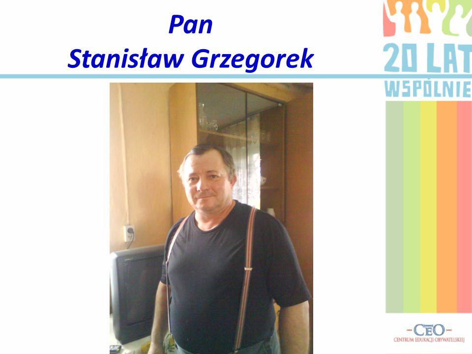 Pan Stanisław Grzegorek
