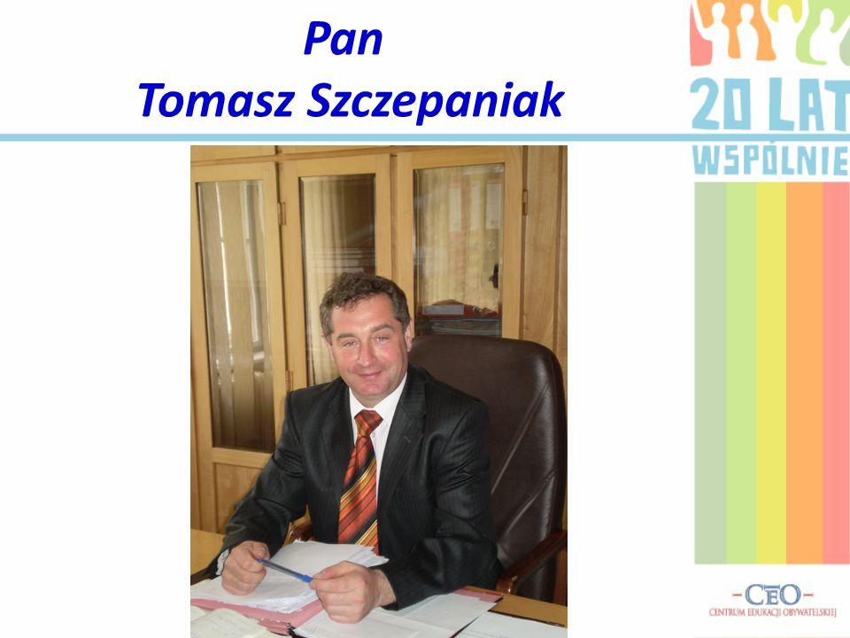 Pan Tomasz Szczepaniak