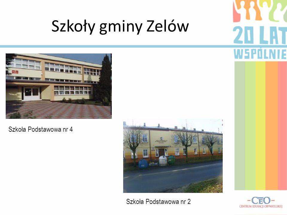Szkoły gminy Zelów Szkoła Podstawowa nr 4 Szkoła Podstawowa nr 2