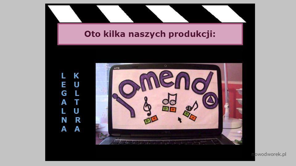 Oto kilka naszych produkcji: L K E U G L A T L U N R A nowodworek.pl