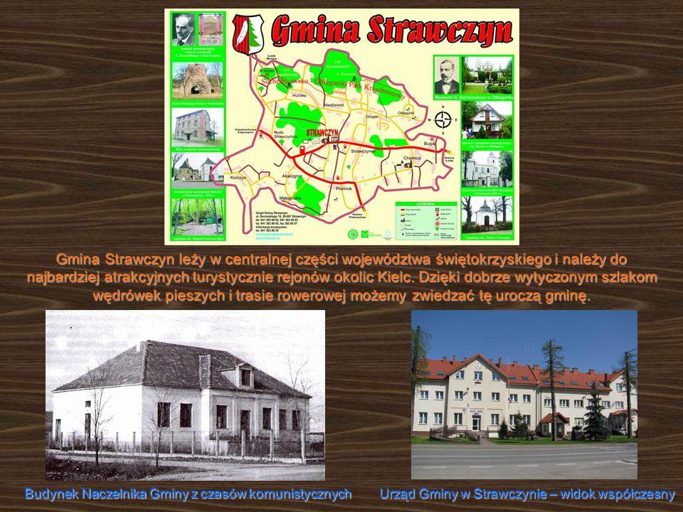 Gmina Strawczyn leży w centralnej części województwa świętokrzyskiego i należy do najbardziej atrakcyjnych turystycznie rejonów okolic Kielc.