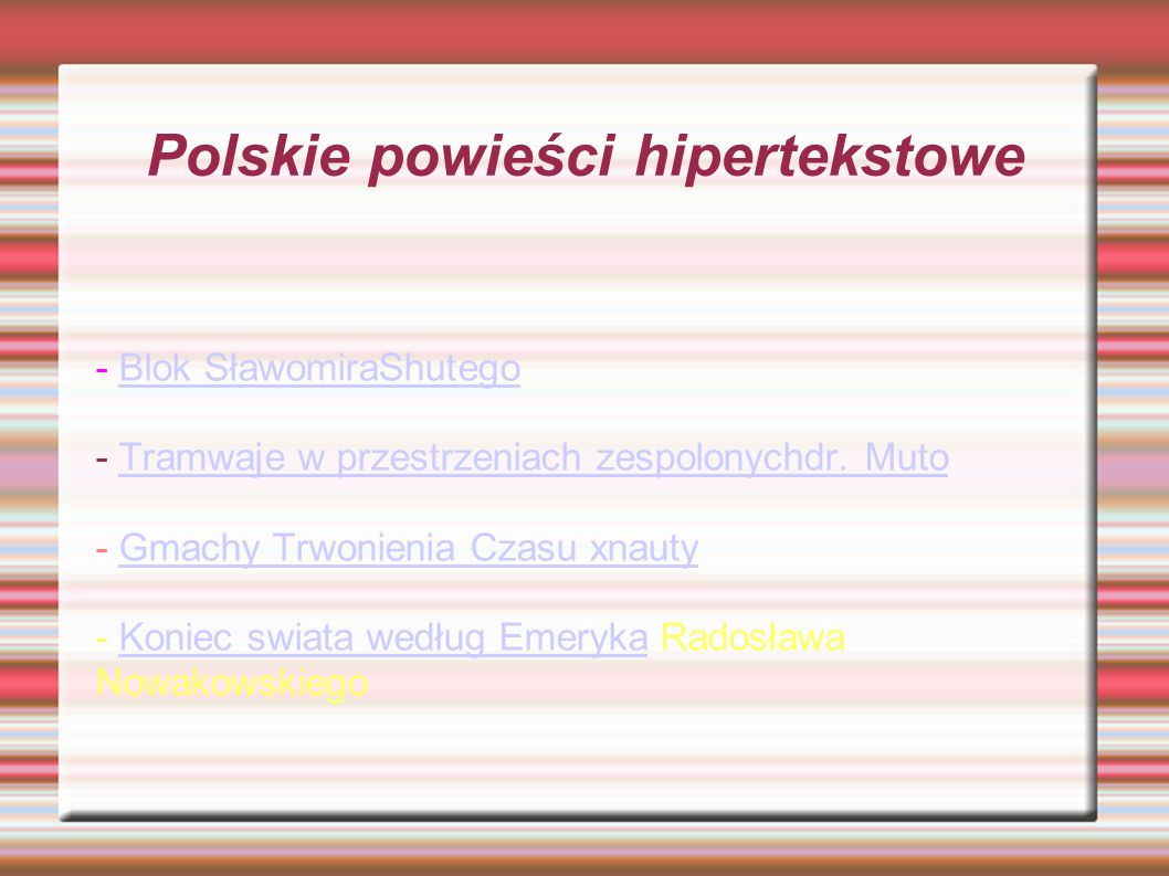 Twórcy prezentacji -.- Mateusz Kozłowski Karolina Kwapisz Zocha Kopacz