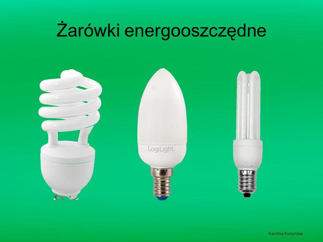 Żarówki energooszczędne Karolina Kurzyńska
