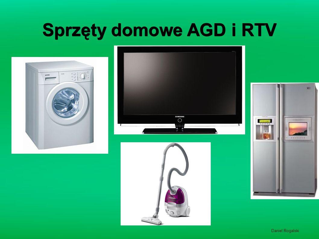 Sprzęty domowe AGD i RTV Daniel Rogalski